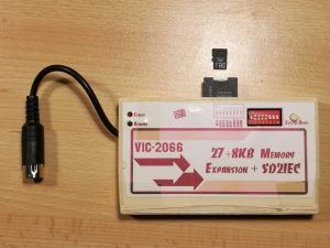 VIC 2066 expansion cartridge with SDIEC, for the Commodore VIC-20
